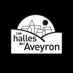 Logo Halles de l'Aveyron sur fond blanc