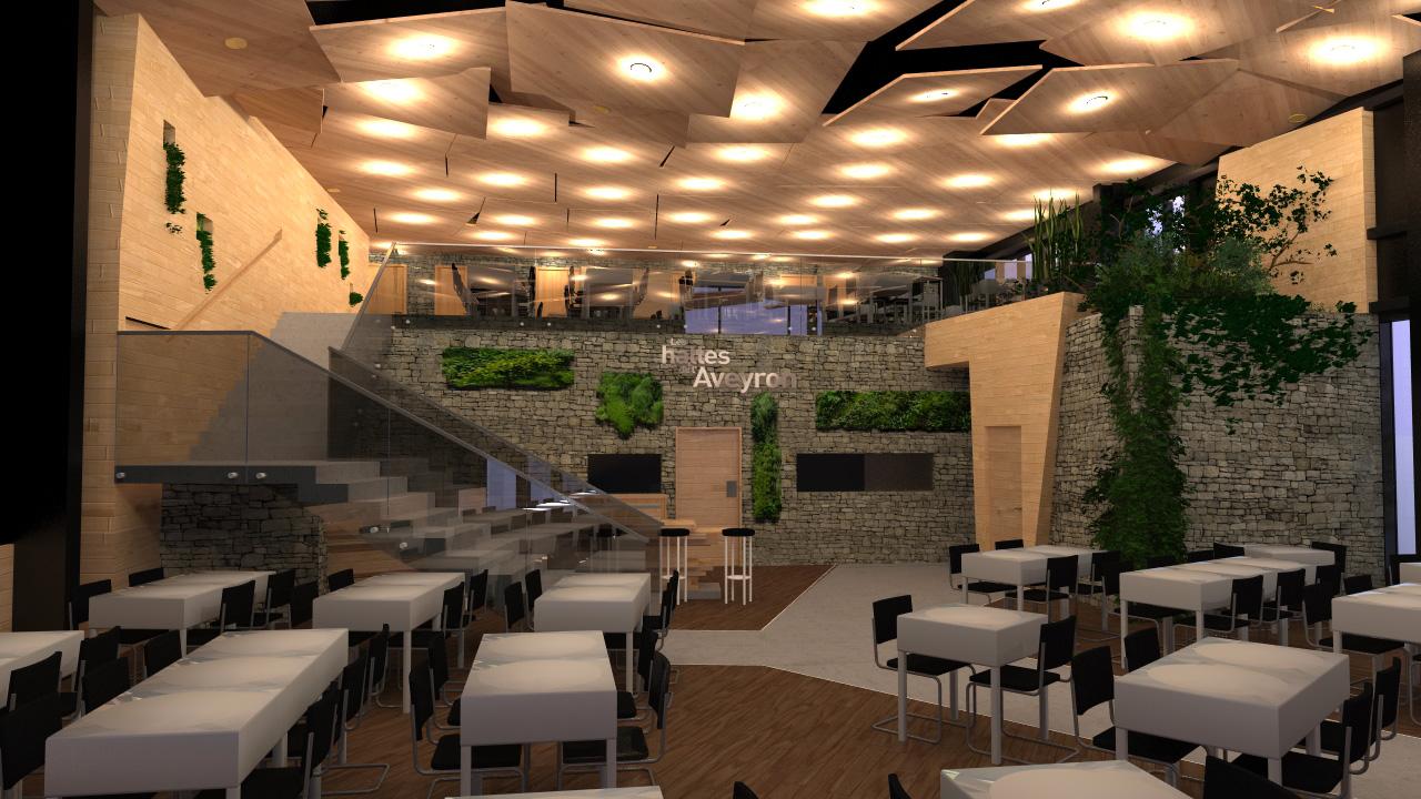 le concept du restaurant les halles de l aveyron. Black Bedroom Furniture Sets. Home Design Ideas