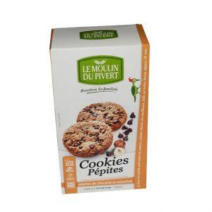 Cookies pépites de chocolat et noisettes du Moulin du Pivert